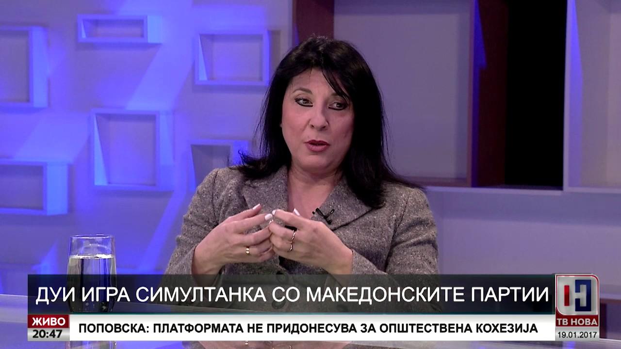 ДУИ игра симултанка со македонските партии