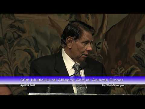 Dr. M. Basheer Ahmed - 66th MCA Annual Awards Dinner Honoree