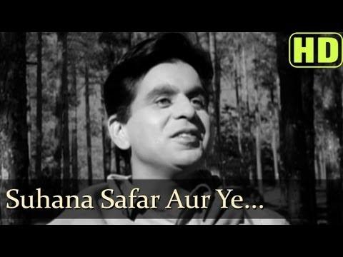 Suhana Safar Aur Ye - Madhumati Songs - Dilip Kumar - Vyjayantimala - Mukesh (видео)