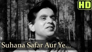 Suhana Safar Aur Ye - Madhumati - Old Bollywood Video Song