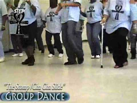 "Step / Line Dance – ""The Stomp/Cha Cha Slide"""