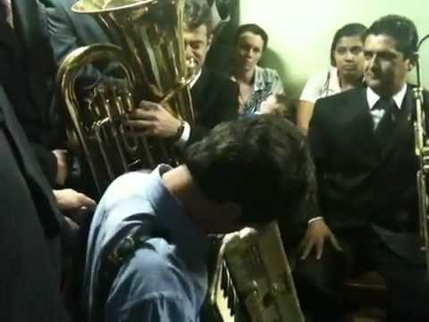 Tocata após ensaio Pavao Bonito 29/12/2011