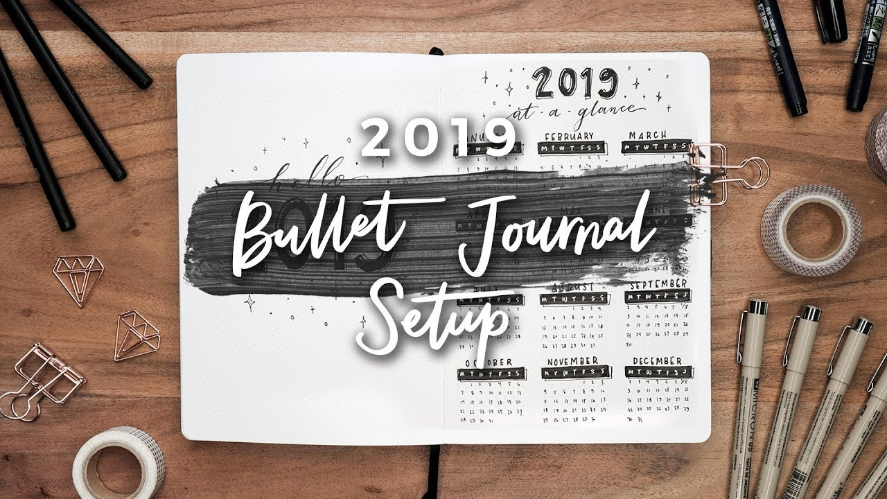 Picture of My 2019 Bullet Magazine Set up