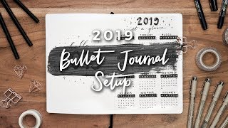 My 2019 Bullet Journal Setup