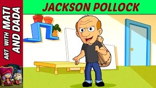 Art with Mati and Dada – Jackson Pollock | Kids Animated Short Stories in English