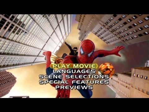 Spider-Man 3 (2007) - Main Menu DVD