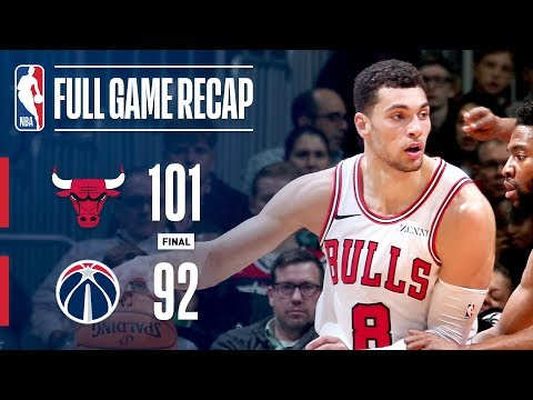 Video: Full Game Recap: Bulls VS Wizards | Chicago Takes Down Washington