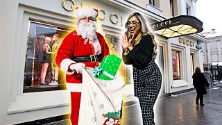Santa Buys Random Strangers ANYTHING They Want! **unexpected**