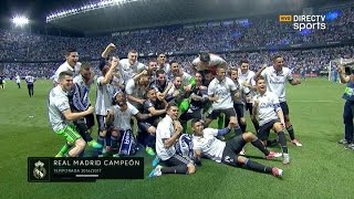 Video Celebracion Liga Real Madrid vs Malaga 21/05/2017 MP3, 3GP, MP4, WEBM, AVI, FLV Mei 2017
