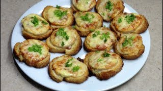CHICKEN PARMI BITES Video Recipe Cheekyricho