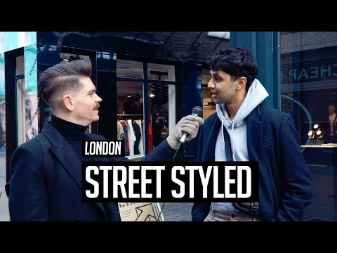 Mens hairstyles - Street Styled  Men's Hair and Style in London  Winter 2018