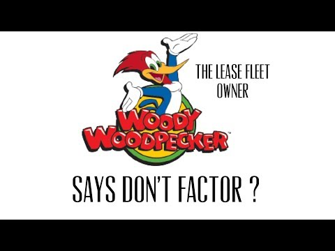 Woody - RST lease driver gives factoring advice ? Seriously 😳