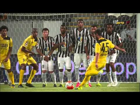 الجزيرة 1 × الوصل 2 - دوري الخليج العربي - 21/08/2015