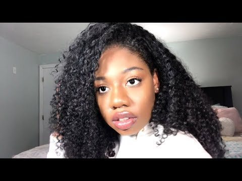 Curly hairstyles - 4 QUICK HAIRSTYLES WITH ISEE HAIR  MONGOLIAN KINKY CURLY