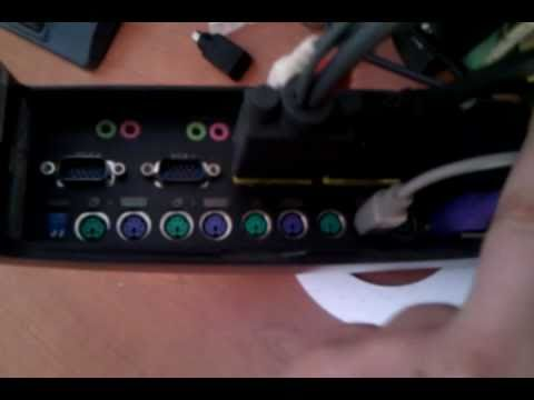 Uso de un switch KVM (Belkin Omniview SOHO)