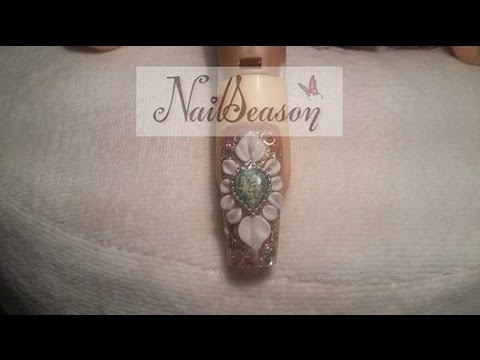 nail art - unghia gioiello