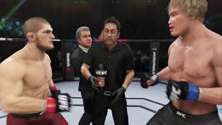 Video Khabib Nurmagomedov vs. Choe Hong-man (EA Sports UFC 3) - CPU vs. CPU MP3, 3GP, MP4, WEBM, AVI, FLV Desember 2018