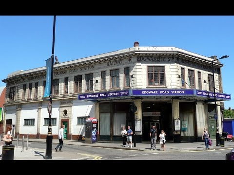 Edgware Road (Met) Station Contrasts 1990 - 2015 (видео)