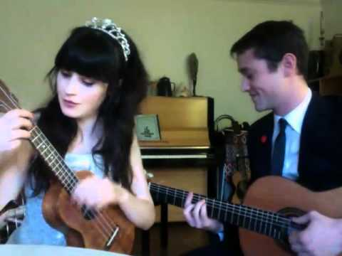 Zooey Deschanel And Joseph Gordon-Levitt Sing