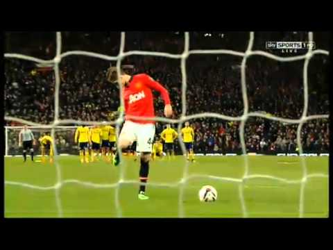Manchester United Vs Sunderland Penalty Shootout 22/01/14