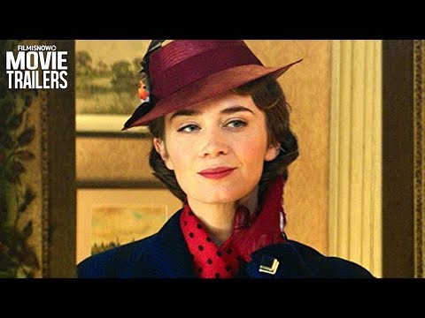 MARY POPPINS RETURNS | Oscars First Look Trailer with Emily Blunt