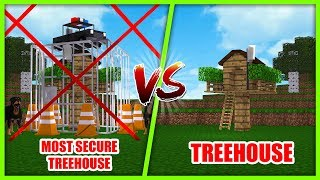 Video MOST SECURE BASE CHALLENGE - TREEHOUSE VS TREEHOUSE w/ Tiny Turtle MP3, 3GP, MP4, WEBM, AVI, FLV Agustus 2018