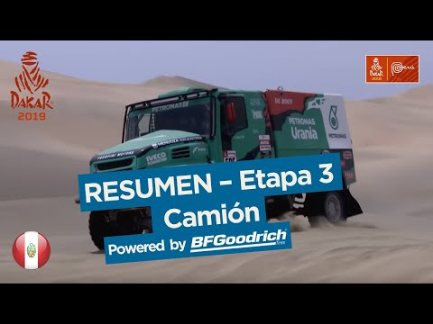 Dakar - Etapa 3 Resumen camiones