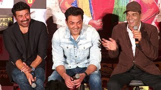 'Poster Boys' Official Trailer Launch  Sunny Deol, Bobby Deol, Shreyas Talpade, Dharmendra#celebs #stars #entertainment SUBSCRIBE OUR CHANNEL FOR REGULAR UPDATES: http://www.youtube.com/subscription_center?add_user=f3bollywoodnnewsLike us on Facebook:www.facebook.com/FirstFrameFilmsFollow us on Twitter:www.twitter.com/FirstFrameFilms