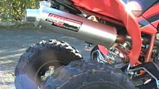 9. LRD Yamaha Raptor 250 Exhaust