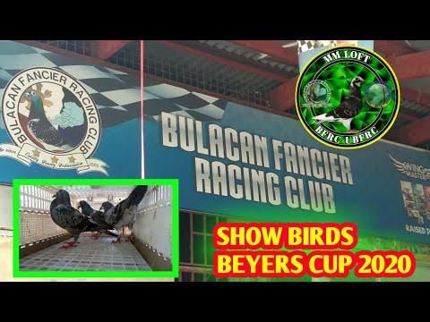 BFRC BEYERS CUP 2020 SHOW BIRDS