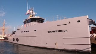 "Video The ""Ocean Warrior"", Sea Shepherd's new weapon against whalers MP3, 3GP, MP4, WEBM, AVI, FLV Agustus 2018"