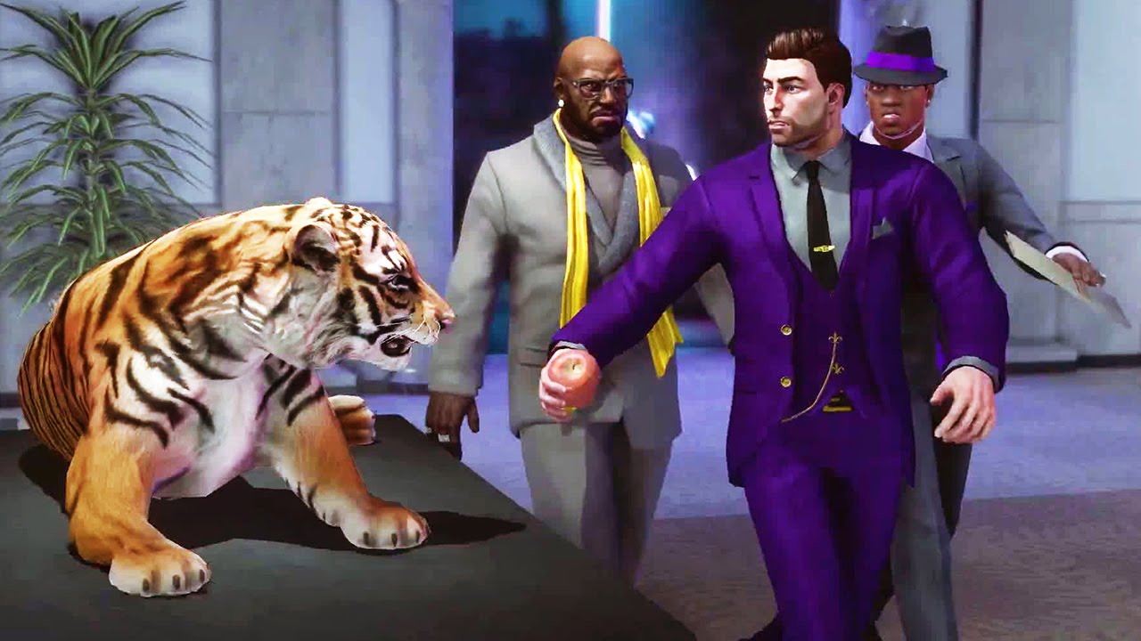 SAINTS ROW 4 – Re-Elected & Gat out of Hell Trailer (PS4 / Xbox One) #VideoJuegos #Consolas