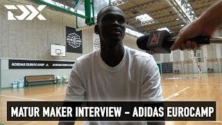 Matur Maker Interview - Adidas Eurocamp