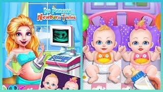 Ice Princess Newborn Twins - Pregnant surgery simulator - Best games for girls