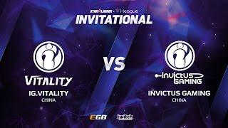 IG.Vitality vs Invictus Gaming, Game 1, SL i-League Invitational S2, CN Qualifier