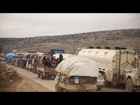 EU: Außenminister begrüßen Waffenruhe in Syrien