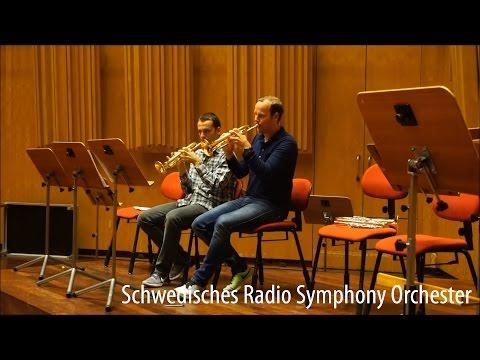 Schwedisches Radio Symphony Orchester testet WEIMANN