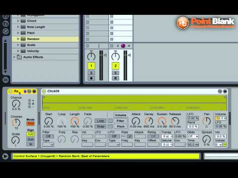 Ableton Live Tutorial – Minimal Clicks in Simpler