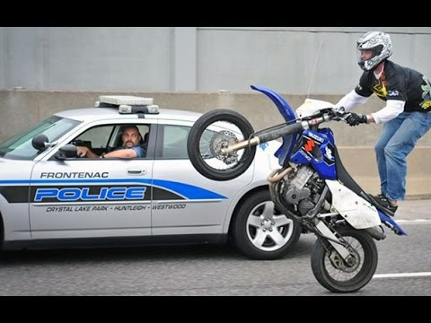 Download Motorcycle Stunters VS. Cops Compilation - FNF HD Mp4 3GP Video and MP3
