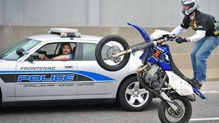 Motorcycle Stunters VS. Cops Compilation - FNF Video