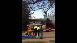 Westlock (AB) Canada  City pictures : House Fire in Westlock, Alberta