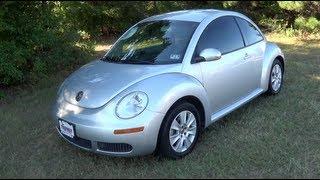 2008 Volkswagen New Beetle Startup, Tour&Test Drive