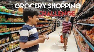 Video Kids Brother - Kids Grocery Shopping Challenge - With Fadhel, Rey, & Vanessa MP3, 3GP, MP4, WEBM, AVI, FLV November 2018