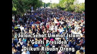 Video Ribuan Ummat Islam Ikuti Jalan Sehat Ganti Presiden di Solo MP3, 3GP, MP4, WEBM, AVI, FLV Oktober 2018