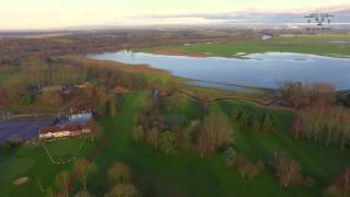 Lymm United Kingdom  city photo : Lymm - Floods Aerial Views of flooding in the Warrington Area aerial drone footage used by Tv