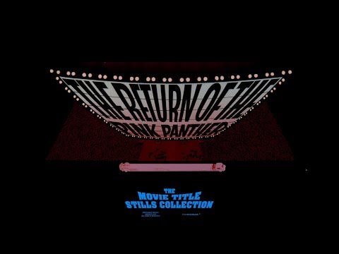 The Return of the Pink Panther (1975)  title sequence