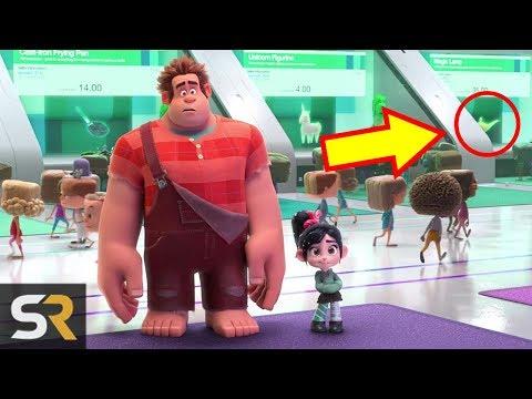 10 Hidden Details You Missed In Ralph Breaks The Internet