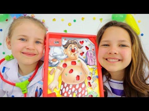 Игры для детей. Лечим зубы Ам-Няму! (видео)