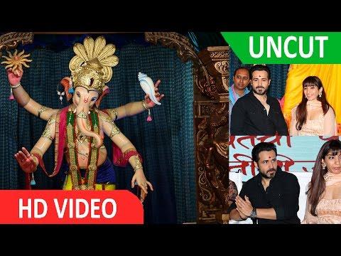 Emraan Hashmi Visited Mumbai Cha Raja Ganesh Galli