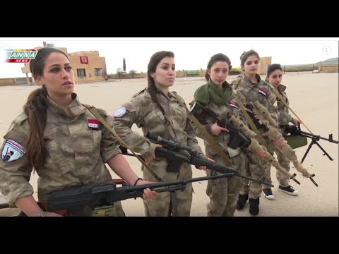 Video Syrian Christian girls defend their town from Western backed